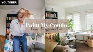 Paint My Condo Living Room Transformation | Before And After Home Reveal