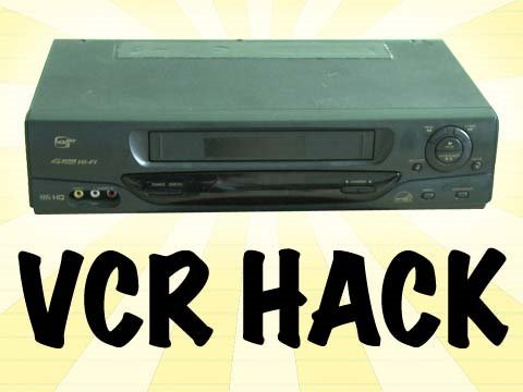 Your Old VCR is Full of Hundreds of Dollars Worth of Gear