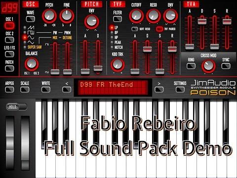 Video   POISON 202 Vintage Synth - Fabio Ribeiro Sound Pack