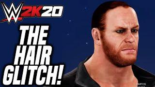 WWE 2K20 REMOVE HAIR GLITCH