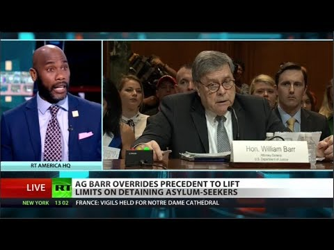 ACLU suing AG William Barr over asylum rules