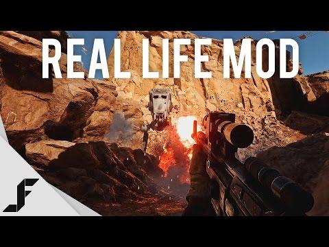 hqdefault - Un mod para Star Wars Battlefront para que se vea más real