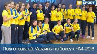 Женская сборная Украины по боксу готовится к чемпионату мира-2018