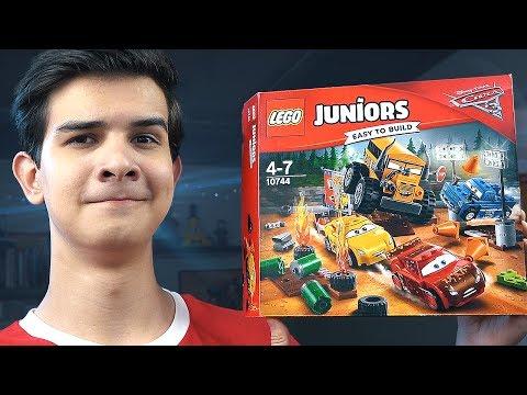 LEGO Тачки 3: ГОНКА В ГРЯЗИ - Набор На Обзор (10744)