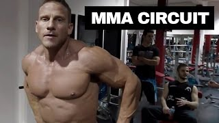MMA cardio circuit training video - UNCUT by MitchGoslingTV