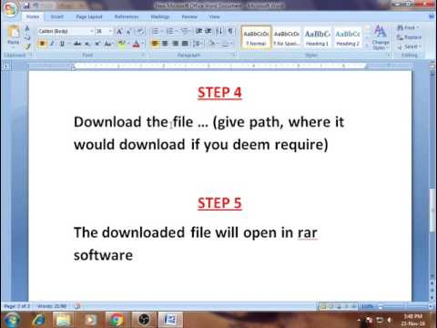 How to convert M.S Word file into JPEG file online