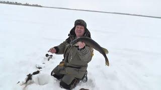 Рыбалка на озерах хмао зимой