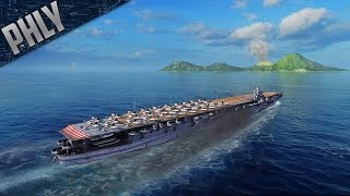 World Of Warships Aircraft Carrier SHOKAKU - Japanese Tier 8