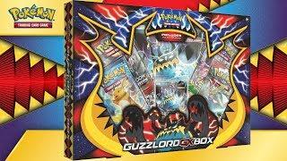 Guzzlord  - (Pokémon) - Opening 6x Pokémon TCG: Guzzlord-GX Box