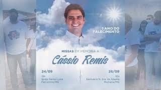 Um ano da morte de Cássio Remis, ex candidato a prefeito de Patrocínio.