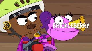 Brickleberry - Malloy's New Bike  - Uncensored