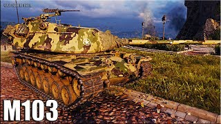 М103 лучший бой 🌟 World of Tanks m103 карта Химмельсдорф