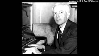 Bartók plays Bartók - Ten Easy Piano Pieces - 5th: Evening in Transylvania &10th: Bear Dance