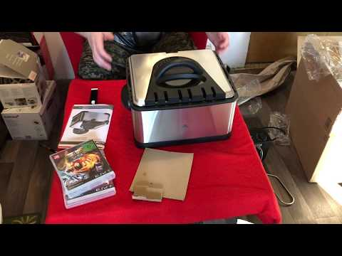 Clatronic FR 3195 Kaltzone-Fritteuse Unboxing