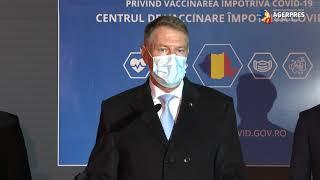 Iohannis: Strategia de vaccinare, aprobată în CSAT