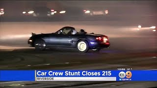 WE MADE IT ON THE NEWS!! Street Racers Shut Down Freeway!