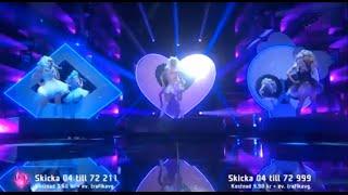 Dolly Style - Hello Hi - @ Melodifestivalen 2015