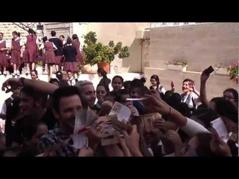 The Sun - Holy Land Tour 2012 - Concerto @ Terra Sancta College e Casa Antoniana