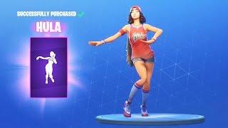 *NEW* HULA DANCE EMOTE (Fortnite Item Shop July 15)