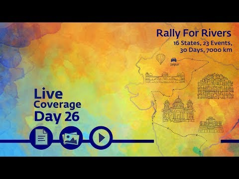 Event Rally for Rivers at Jaipur