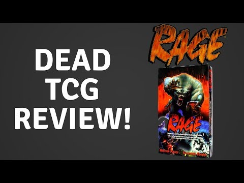 RAGE- THE COOLEST DEAD TRADING CARD GAME EVER