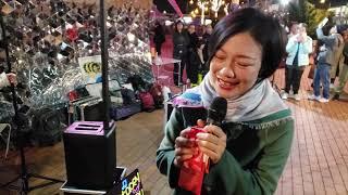 [開場曲]香港之夜,靜夜的單簧管,無奇,值得,紅茶館.  香港旺角小龍女 龍婷 @中環10碼頭 07/12/19 Stacey Long  @中環9號碼頭 07/12/19