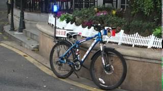 2016-03-16 Police Bike, Guangzhou, China.