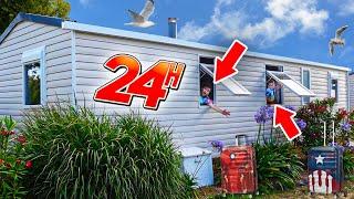 24H DANS UN MOBILE HOME ! thumbnail