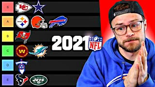 THE GREATEST NFL TIER LIST - Ranking All 32 Teams! (Do you Agree?)