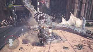 MHW   Solo Arena: Azure Rathalos    Hammer    5'12''58 [A-Rank]
