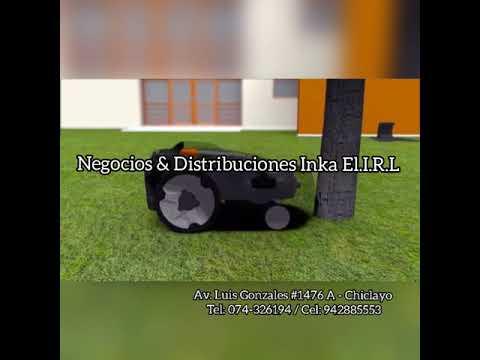 Robot cortacésped Husqvarna   Negocios & Distribuciones Inka E.I.R.L