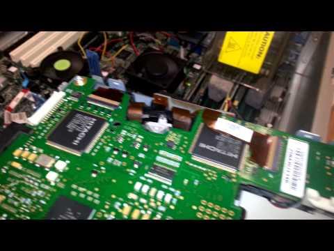 Sistema de carga de cinta en unidad de backup ULTRIUM 448 LTO 2