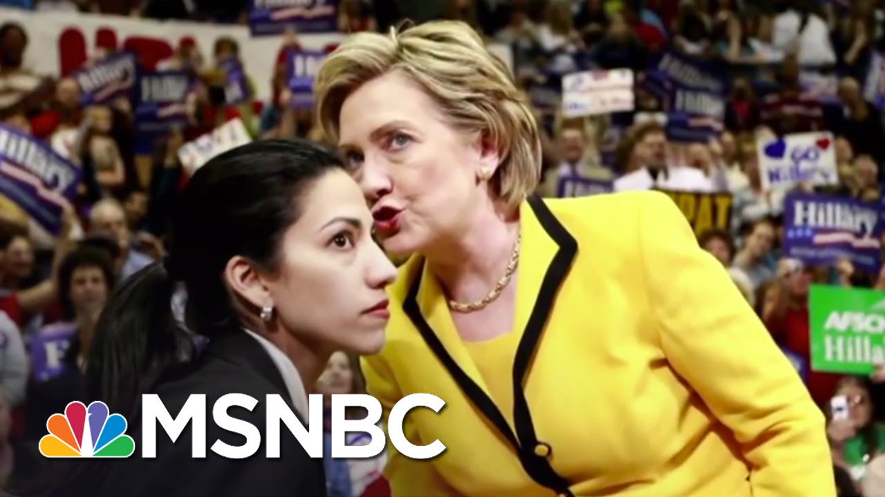 Top Clinton Aide Huma Abedin Under Fire From GOP | MSNBC thumbnail