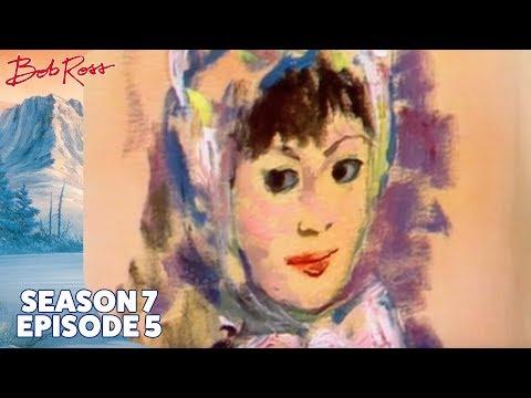 Bob Ross - Portrait of Sally (Season 7 Episode 5)