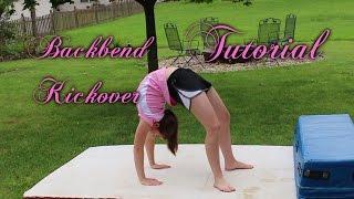 Beginner Gymnastics: Backbend Kickover Tutorial