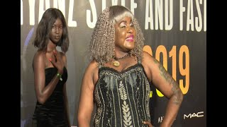 Full Figure Nails It At Abryanz Fashion And Style Awards Red Carpet 2019.