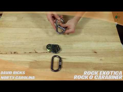 Rock Exotica RockO Carabiner – TreeStuff.com Customer David Ricks Review In The Field