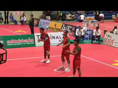 Philippines Vs Indonesia - Sepak Takraw 32nd King's Cup (2017)