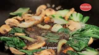 preview picture of video 'Vodafone 4G with Fatafeat - Beef Stir fry with Vegetables'