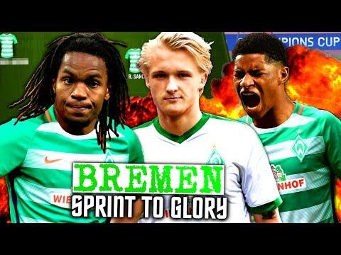 FIFA 17 : RASHFORD SANCHES & DOLBERG BEI BREMEN !!! 🔥🔥🔥 WERDER BREMEN SPRINT TO GLORY