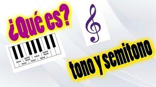 Teoría Musical #1: Tono Y Semitono
