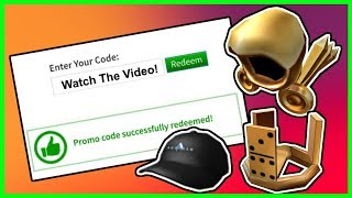 All Working Roblox Promo Codes For Free New 2019 मफत