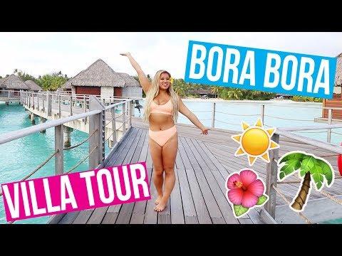 private bora bora villa tour most insane resort ever