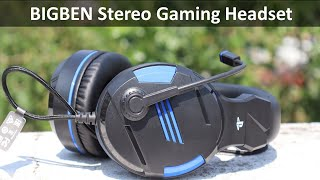 BIGBEN Stereo Gaming Headset - Unboxing and Review - Best Gaming Headset