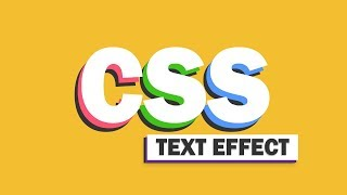 16 Awesome Pure CSS Text Effect You Should Try!