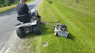 How To Mow The Ditches In Style