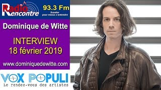 INTERVIEW - RADIO RENCONTRE DUNKERQUE - 18/02/2019