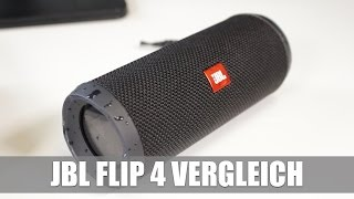 JBL Flip 4 Vergleich mit dem Flip 3 & Soundcheck