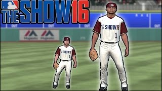 Who Can Hit More Home Runs? The Tallest Player Ever, Or The Shortest? MLB The Show 16 Challenge