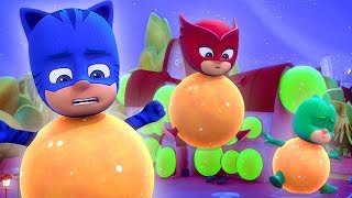 PJ Masks Official 🥚PJ Masks Eggs 🥚Splatter Ball Surprise! | 2019 Special in 4K | PJ Masks Official